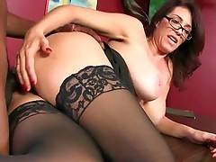 Breasted Lady Boss Is Fucked In Her Office 3