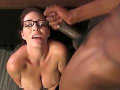 Black Stud Fucks Sexy White Lady And Feeds Her With Cum 2