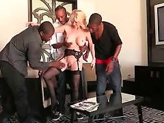 Slutty milf Cammille appears to be extremely black cock hungry.