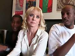 White Mom Cammille Starves For Big Black Cocks 1