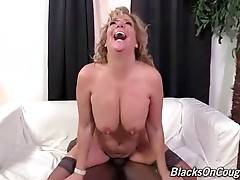 Old White Hooker Enjoys Massive Black Dick 3