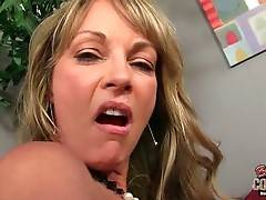 Shayla LaVeaux eagers to feel black dude`s big shaft in her pussy.